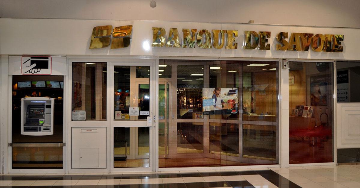 Photo de la banque de savoie à chamnord