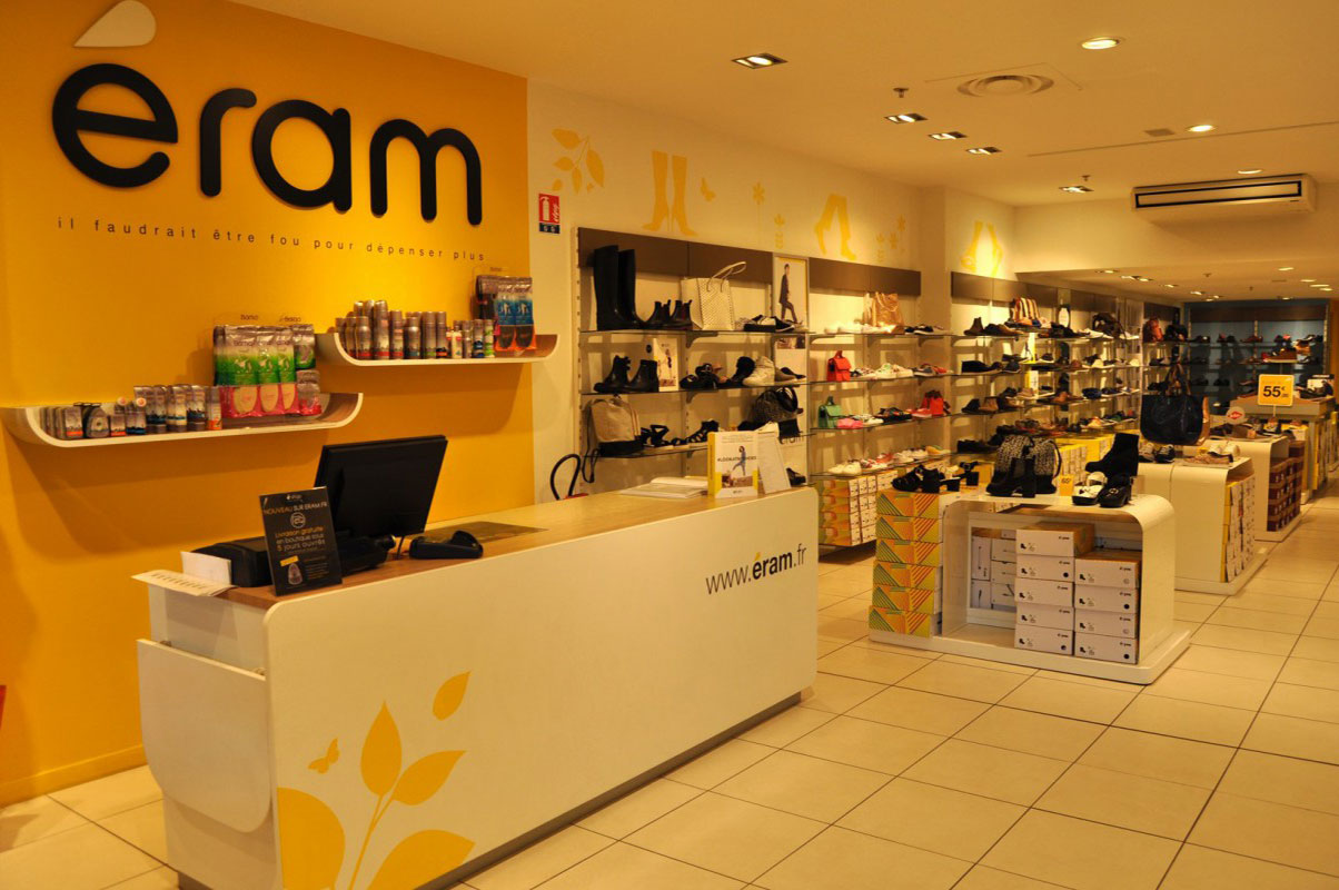 Photo de la boutique Eram à Chamnord
