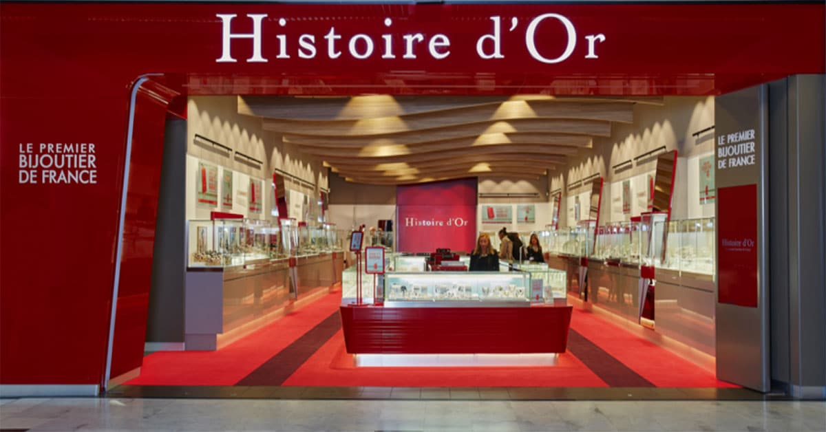 boutique histoire d'or chamnord