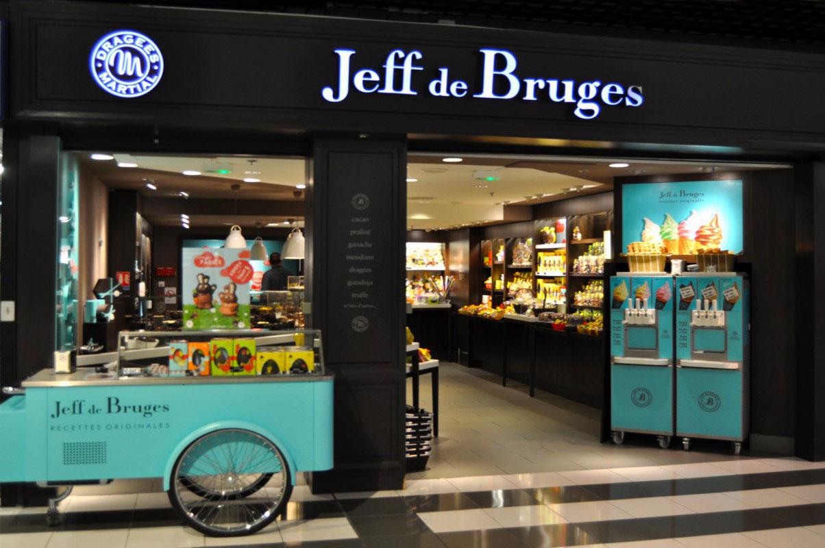Photo de la boutique jeff de bruges à chamnord