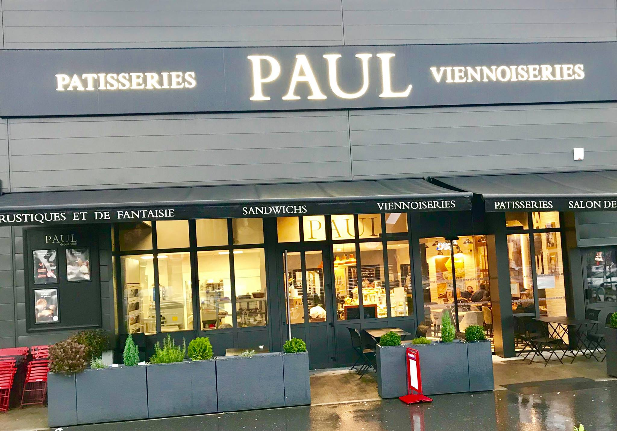 Boulangerie Paul Chamnord