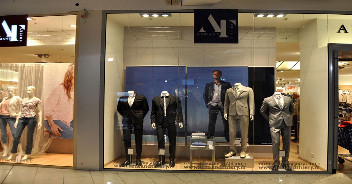 Photo de la boutique Armand Thiery Homme de Chamnord