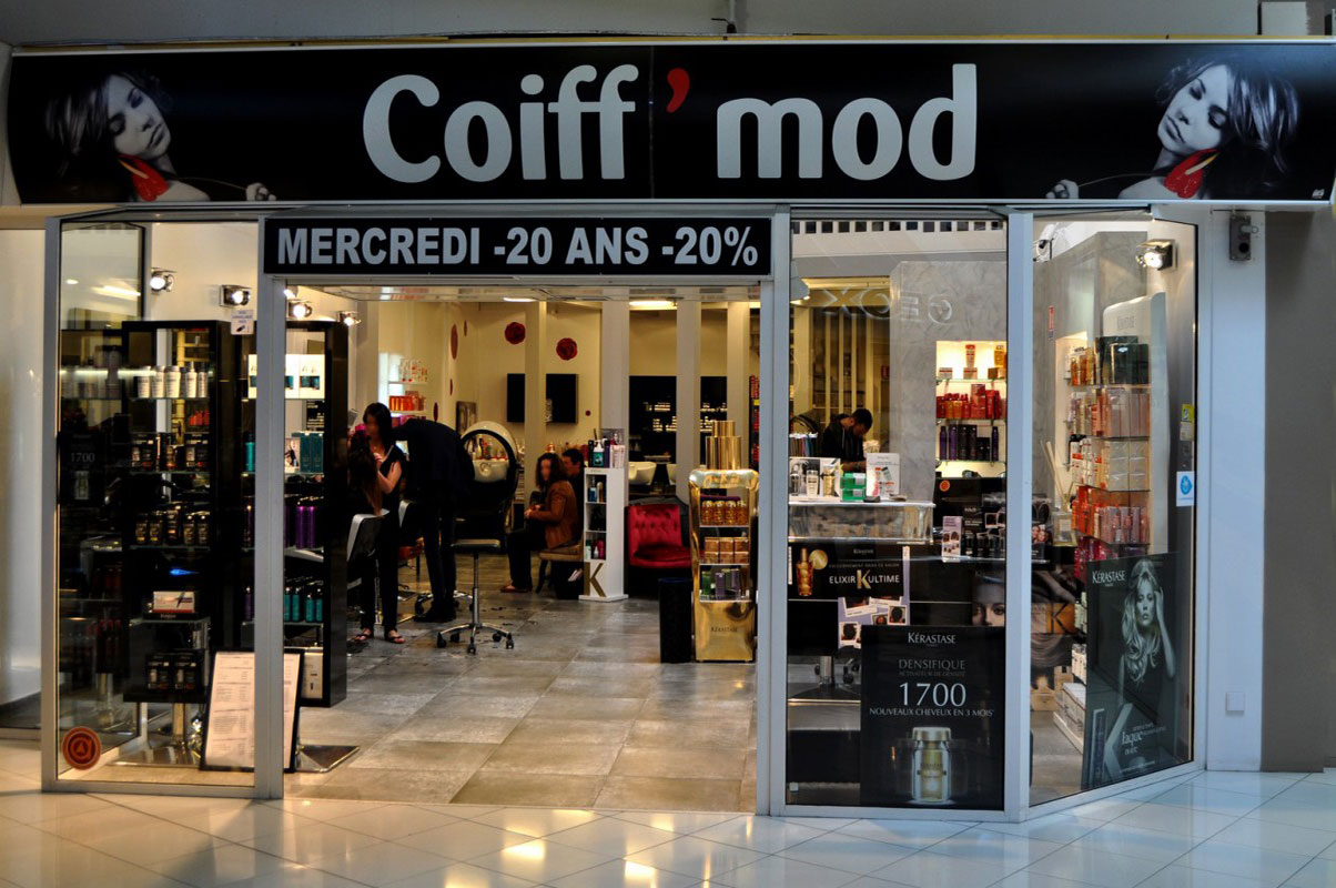 Photo du salon de coiffure Coiff'Mod à Chamnord