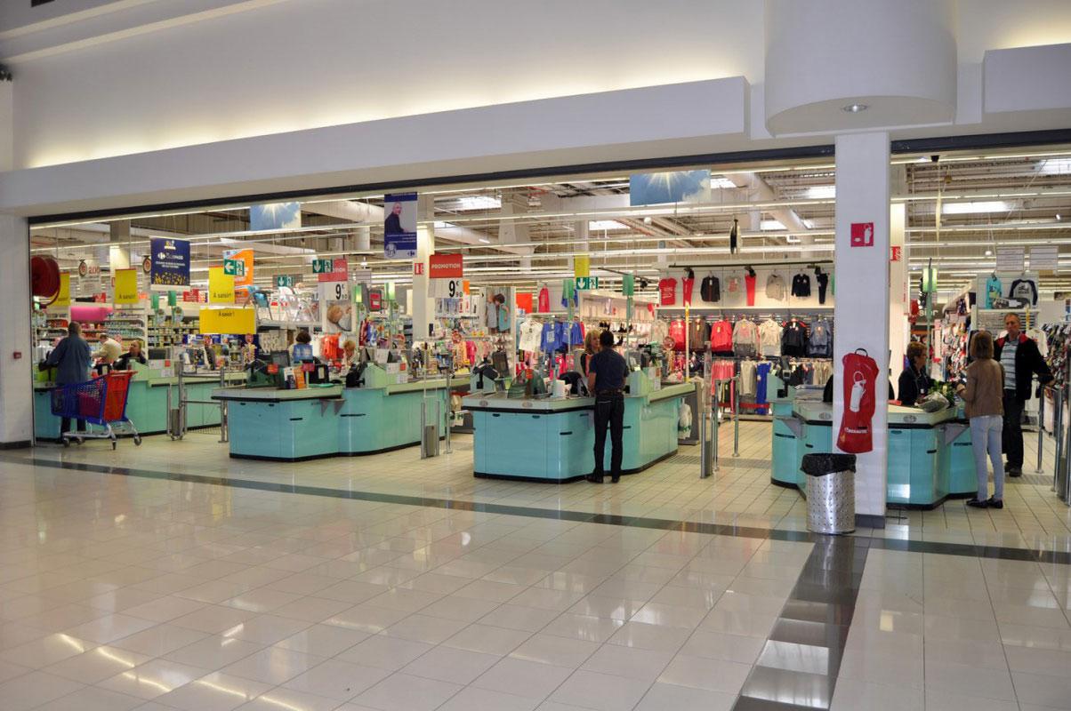 Photo du supermarché Carrefour à Chamnord